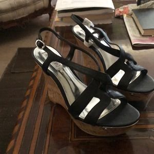 Jennifer Lopez wedge sandals
